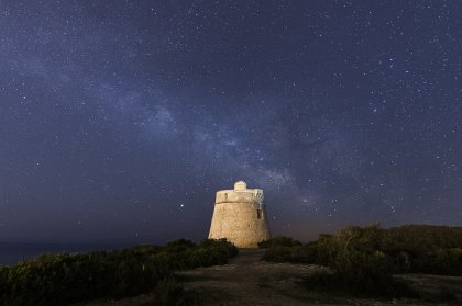 Ibiza and Formentera night skies